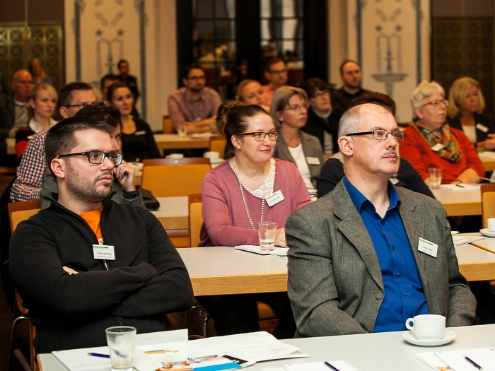Interessierte Zuhörer beim 10. Infotag E-Government©NOLIS GmbH